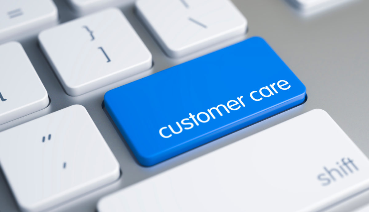 You Take Great Care of Customers, No Matter What