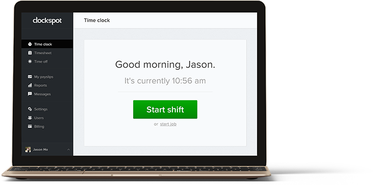 The Easiest Time Clock Available