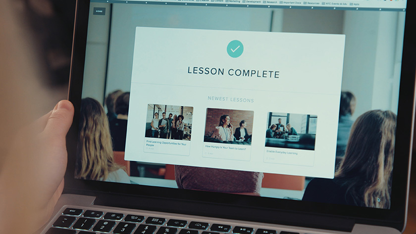 Grovo Creates the Lessons for You