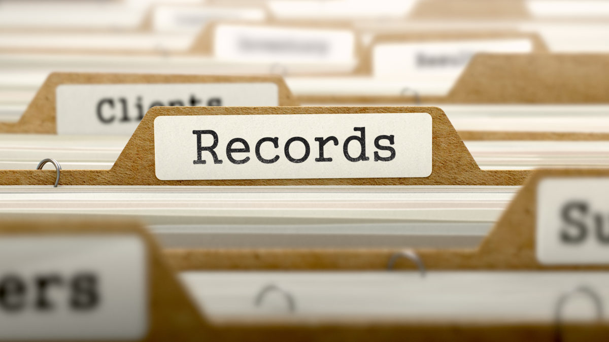 Record & Consider All of the Data